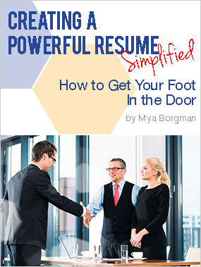 Creating a Powerful Resume eBook